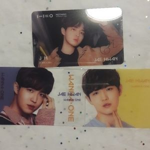 Wanna One Kpop JaeHwan Transparent Photo cards
